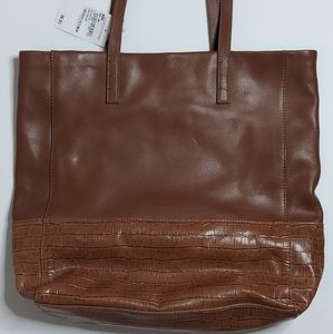 Gorgeous Halogen brown tote bag